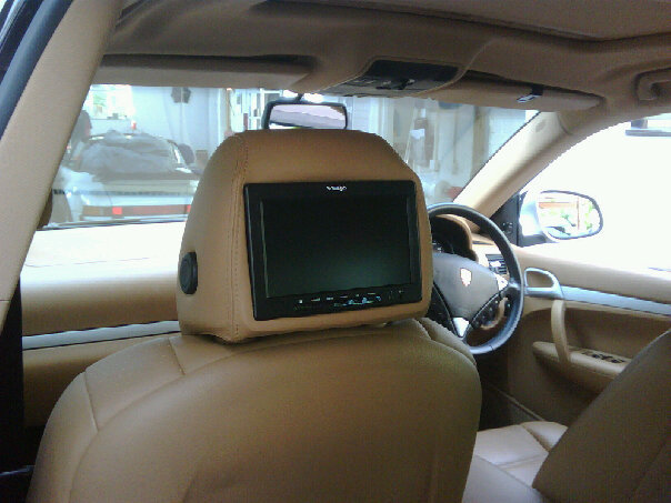 Headrest Screen Fitting Soundsecure Co Uk Mobile Car