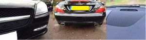 Merc Front & Rear Parking Sensors